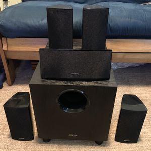 Onkyo Speaker Set + Subwoofer for Sale in Los Angeles, CA