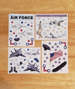 Creative Memories Stars & Stripes AIR FORCE Stickers for Sale in Fontana, CA