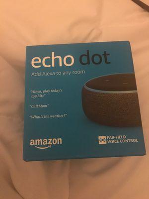 Echo dot for Sale in Raleigh, NC