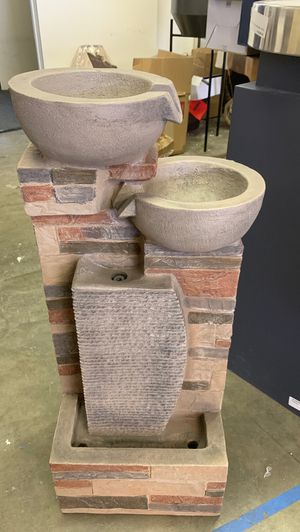 New! polyresin floor indoor & outdoor fountain for Sale in Buena Park, CA
