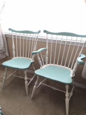 Comb Back chairs (his & hers) for Sale in US
