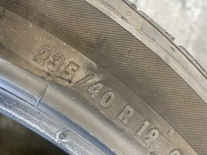 TESLA 3 Tire 235/40/19 Continental (1 Only) $60.00 for Sale in Mission Viejo, CA