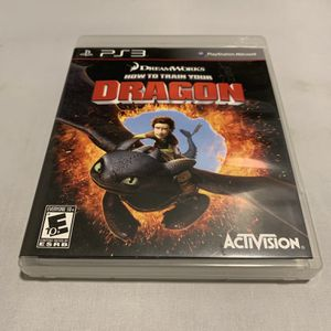 How To Train Your Dragon For PlayStation 3 PS3 Complete CIB Video Game for Sale in Camp Hill, PA