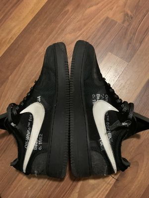 Off-White Air Force One Black Size 10 for Sale in Joint Base Lewis-McChord, WA
