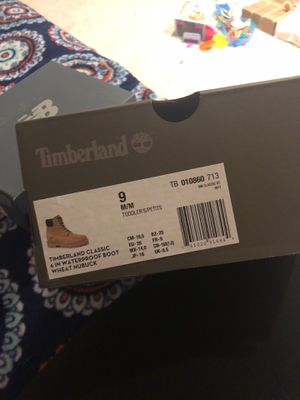 Brand new size 9 timberlands for Sale in Arlington, VA