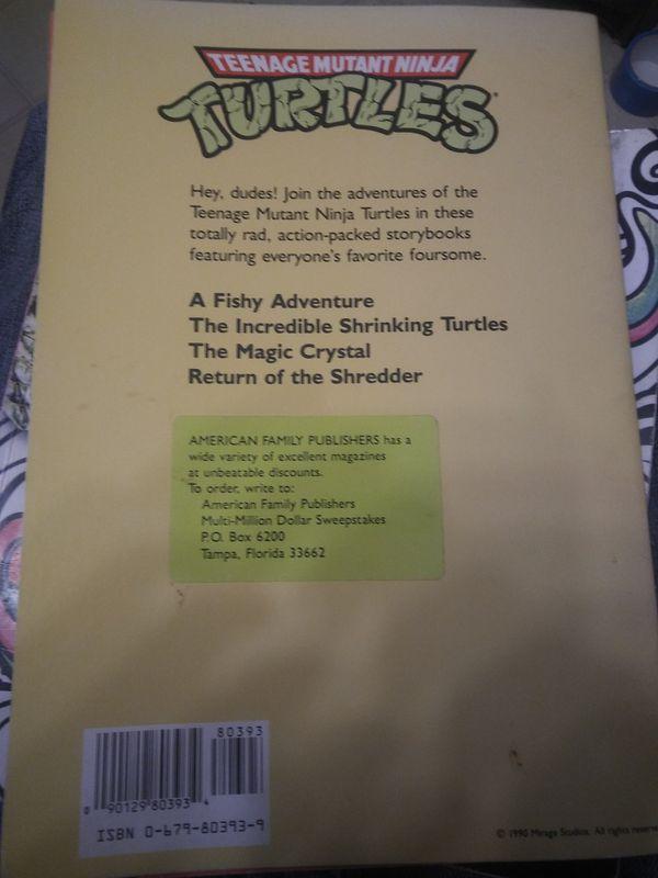 Teenage mutant ninja turtles Books from the 1990s for Sale in Auburn, WA -  OfferUp
