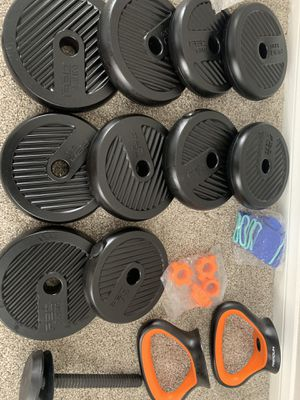 Brand new weight set never used for Sale in Perris, CA