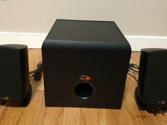 Klipsch ProMedia 2.1 Speakers for Sale in Shoreline,  WA