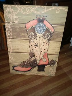Canvas painting for Sale in San Angelo,  TX