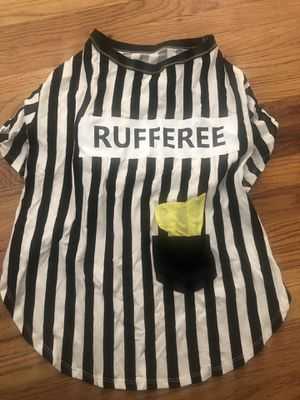 Referee Halloween costume for dogs for Sale in Azusa, CA