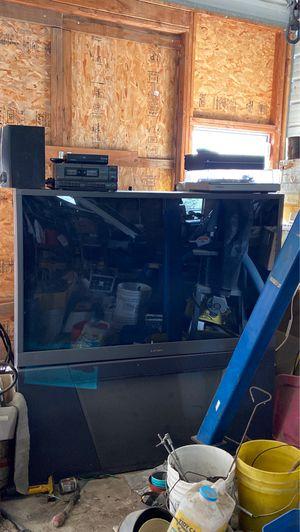 """Mitsubishi 55"""" big screen TV for Sale in Kennewick, WA"""