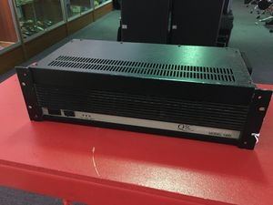 QSC pro audio stereo amplifier rack model 1400 BCP004180 for Sale in Huntington Beach, CA