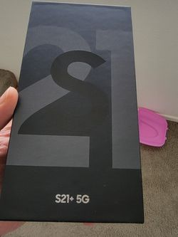 Samsung Galaxy S21 Plus 256gb Unlocked For All Carriers for Sale in Cypress,  CA