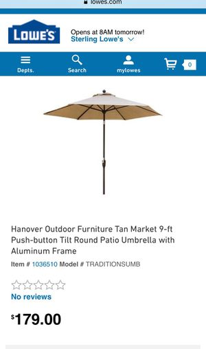 Outdoor Umbrella FREE Stand! for Sale in Ashburn, VA