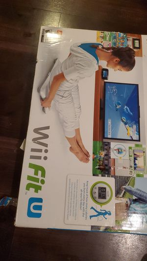 Nintendo Wii Fit U for Sale in Pompano Beach, FL