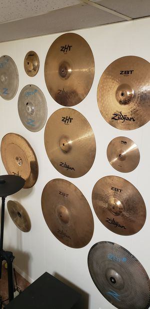 Cymbals for sale for Sale in Minneapolis, MN