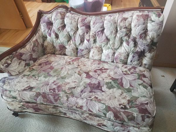 72 year old custom built 3 Piece Sectional owned by my Mother and Father. Beautiful piece of Antique furniture for anyone loving a piece of furniture