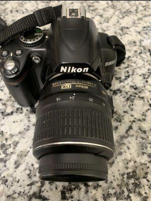 Nikon D3000 for Sale in Atlanta, GA