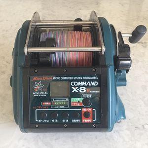 Miya Epoch COMMAND X-8 CX-8 Standard 44kg Big-game Electric Reel for Sale in San Diego, CA