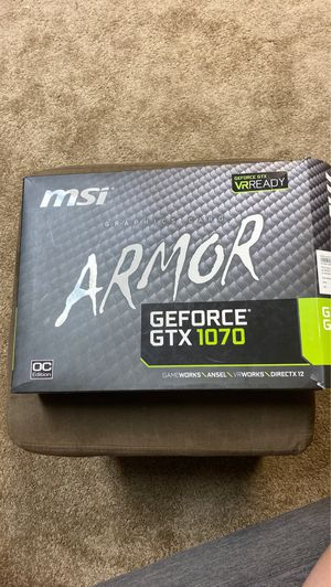 GeForce GTX 1070 graphics card for Sale in Newburgh, IN
