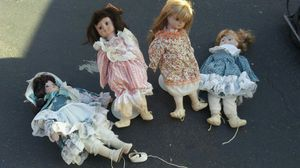 Vintage antique standing dolls for Sale in Richmond, CA