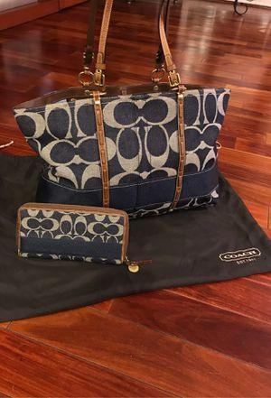 Coach Purse Legacy Collection Denim for Sale in Diamond Bar, CA
