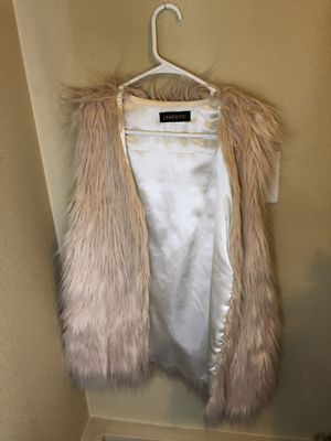 Faux Fur Vest for Sale in Lakewood, WA