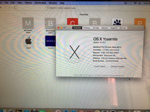 "MacBook Pro early 2011 13"" for Sale in Fresno, CA"