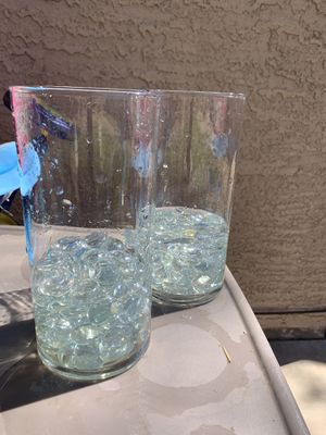 Glass flower vase for Sale in Chandler, AZ
