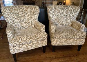 2 Animal Print Chairs for Sale in Birmingham, AL