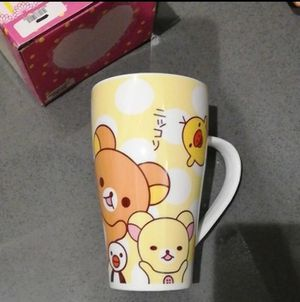 "Super Cute New in Box Rilakkuma and Kaoru Tall Cup Mug 6"" for Sale in Los Angeles, CA"
