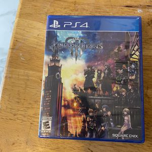 Kingdom Hearts 3 (ps4) for Sale in Hollywood, FL