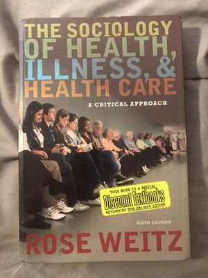 Sociology of Health, Illness, & Health Care for Sale in Lewisville, TX