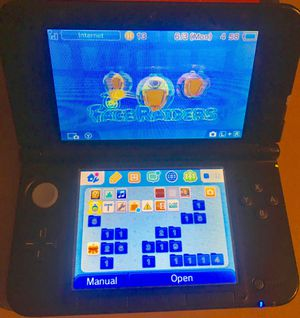 Nintendo 3ds XL & hard shell case for Sale in Azle, TX