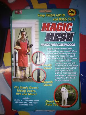 Magic Mesh...as seen on tv for Sale in McDonogh, MD