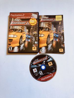 Midnight club street racing PlayStation 2 Ps2 for Sale in Long Beach, CA