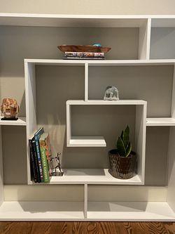 "Geometric Bookcase 51""H, ""49"" W, 8.5"" D for Sale in Redmond,  WA"