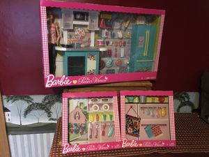 New Pioneer Woman Barbie Set & Accessories for Sale in Waldo, OH