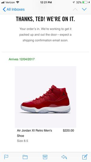 Jordan 11 red size 8.5 $300 for Sale in San Francisco, CA