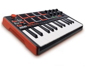 Akai Professional MPK Mini MKII – 25 Key USB MIDI Keyboard Controller With 8 Drum Pads, 8 Assignable Q-Link Knobs for Sale in West Haven, CT