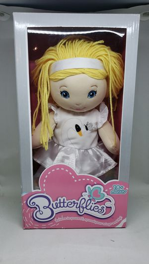 NEW BUTTERFLIES DOLL for Sale in St. Louis, MO