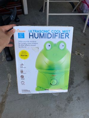 Ultrasonic Cool Mist Humidifier for Sale in Huntington Beach, CA