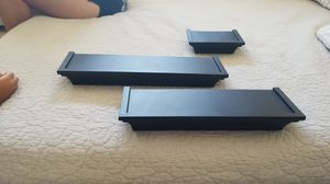 Black wall mount shelves for Sale in Santa Ana, CA