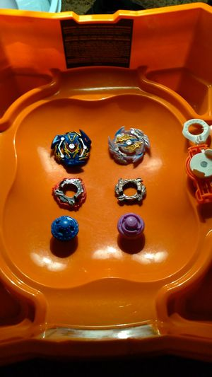 Full BeyBlade Set With Stadium for Sale in Tampa, FL