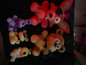 Used Five nights at Freddy's stuffed plushies for Sale in Tyler, TX