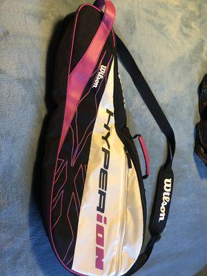 Wilson Tennis Racket & Equipment Bag Adj for Sale in San Bernardino, CA