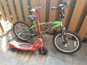 Electric Scooter & Bicycle for Sale in Sandy Springs, GA