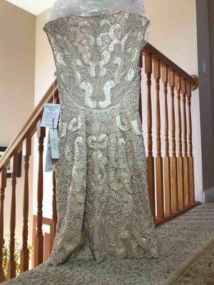 Gorgeous Sue Wong gold champagne cocktail dress size 2 for Sale in El Sobrante, CA