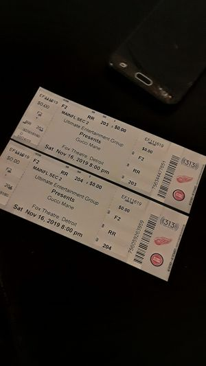 Gucci tickets for Sale in Detroit, MI