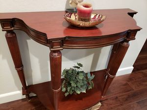 Solid console table for entryway for Sale in Cupertino, CA
